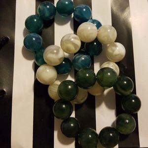 """Jewelry - Fun """"Bubble"""" bracelets"""